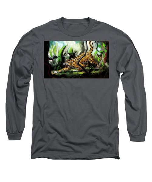 Jaguar And Boa Long Sleeve T-Shirt
