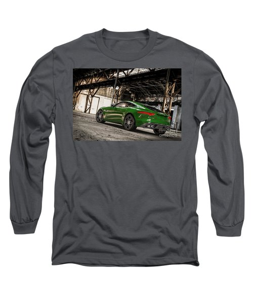Jaguar F-type - British Racing Green - Rear View Long Sleeve T-Shirt