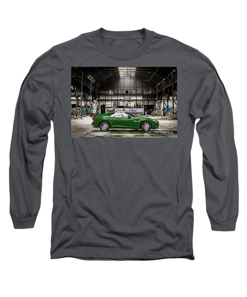 Jaguar F-type - British Racing Green - Side View Long Sleeve T-Shirt