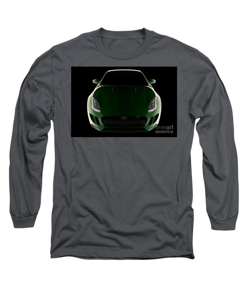 Jaguar F-type - Front View Long Sleeve T-Shirt