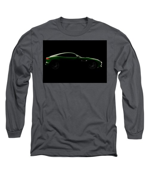 Jaguar F-type - Side View Long Sleeve T-Shirt