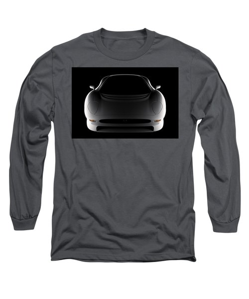 Jaguar Xj220 - Front View Long Sleeve T-Shirt