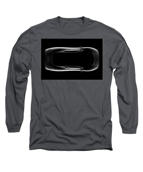 Jaguar Xj220 - Top View Long Sleeve T-Shirt