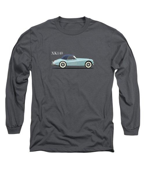 Jaguar Xk140 Long Sleeve T-Shirt