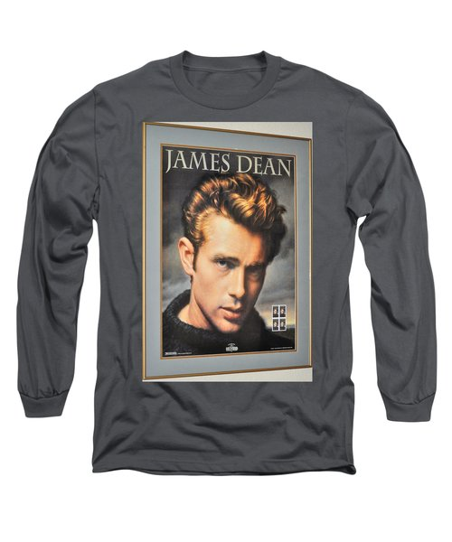 James Dean Hollywood Legend Long Sleeve T-Shirt