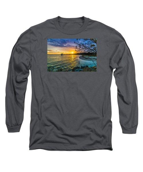 James Island Sunrise - Melton Peter Demetre Park Long Sleeve T-Shirt