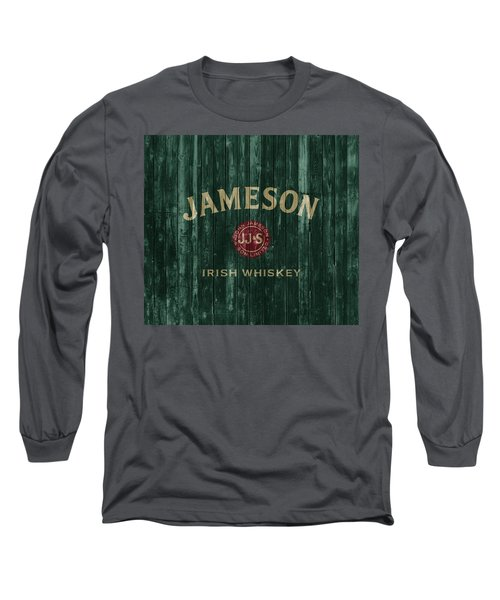 Jameson Irish Whiskey Barn Door Long Sleeve T-Shirt