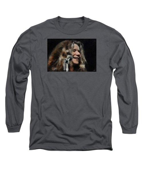 Janis Long Sleeve T-Shirt by Sergey Lukashin