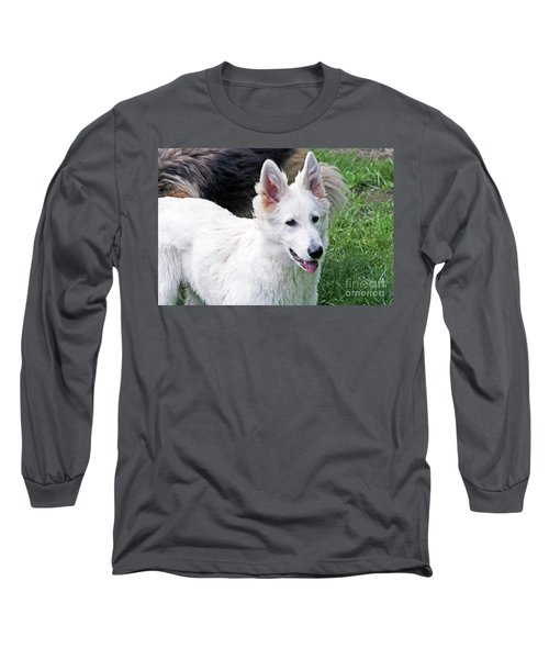 Janie As A Pup Long Sleeve T-Shirt