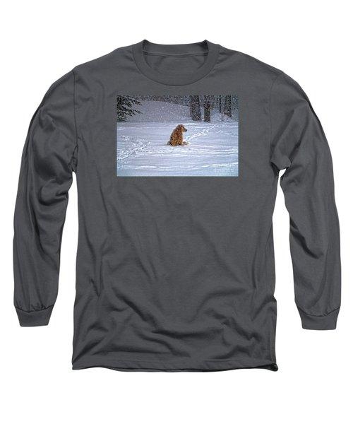 January Blizzard Long Sleeve T-Shirt