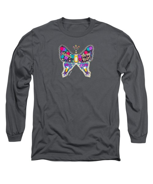 January Butterfly Long Sleeve T-Shirt