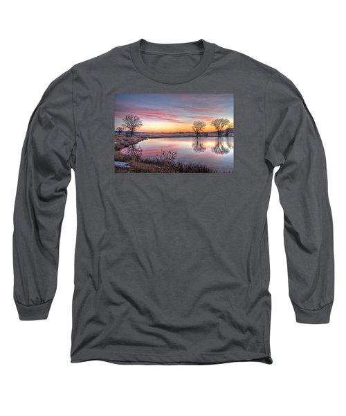 January Dawn Long Sleeve T-Shirt by Fiskr Larsen