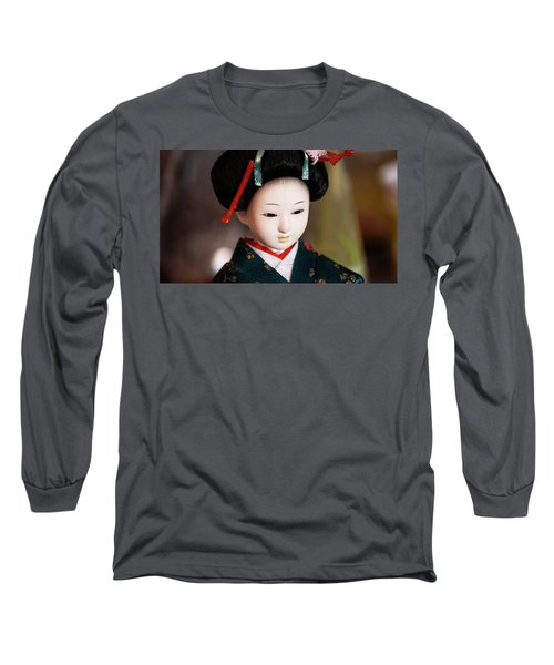 Japanese Doll Long Sleeve T-Shirt