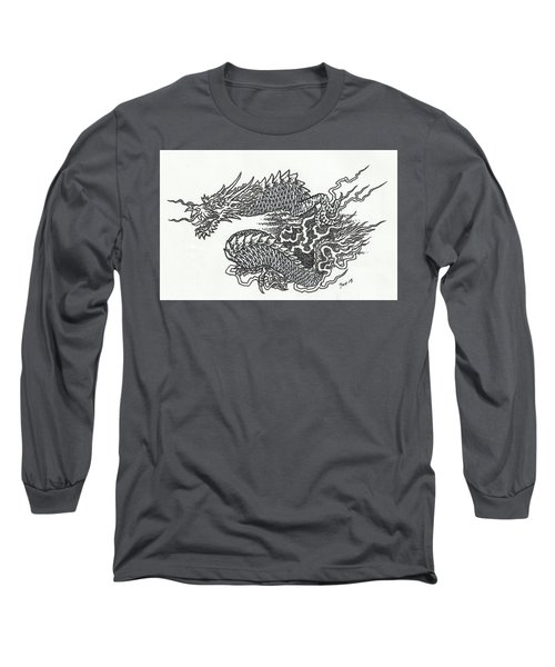 Japanese Dragon Long Sleeve T-Shirt