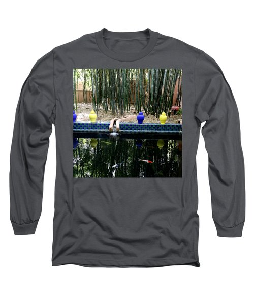 Long Sleeve T-Shirt featuring the photograph Jardin Majorelle by Andrew Fare