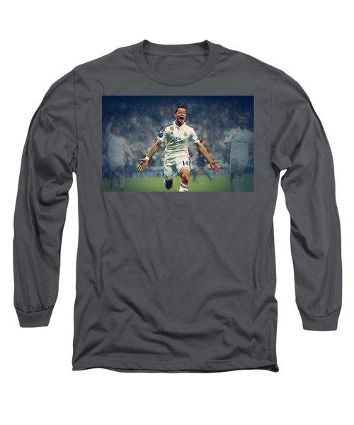 Javier Hernandez Balcazar Long Sleeve T-Shirt by Semih Yurdabak