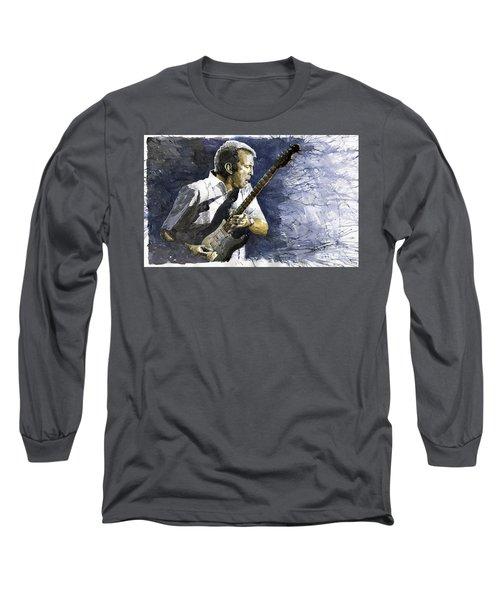 Jazz Eric Clapton 1 Long Sleeve T-Shirt