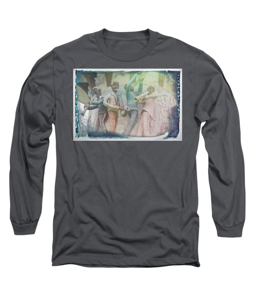 Jazzy Blues Long Sleeve T-Shirt