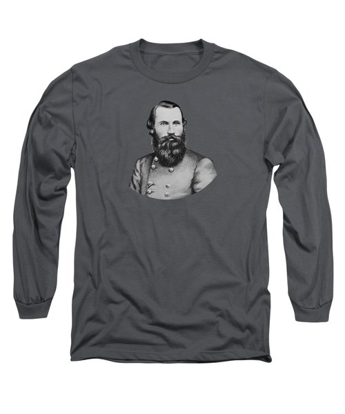 Jeb Stuart -- Confederate General Long Sleeve T-Shirt by War Is Hell Store
