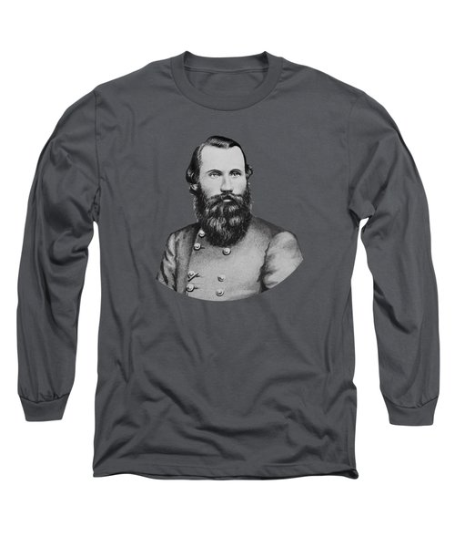 Jeb Stuart -- Confederate General Long Sleeve T-Shirt