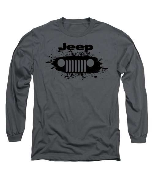 Jeep Splatter Long Sleeve T-Shirt
