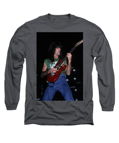 Jeff Young Of Megadeth Long Sleeve T-Shirt