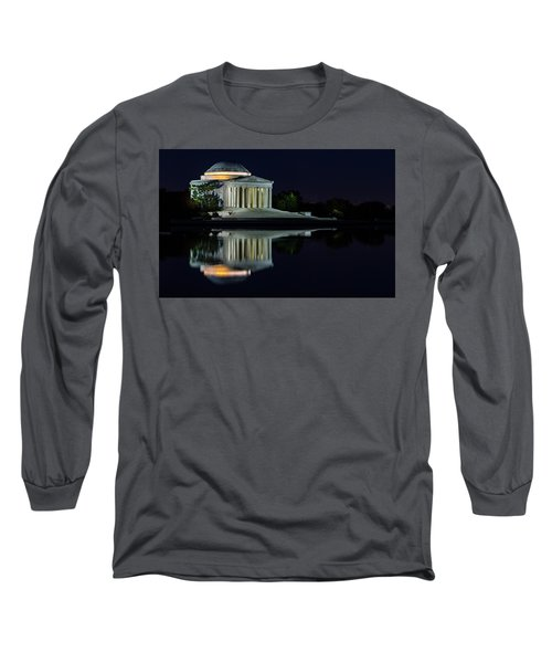 The Jefferson At Night Long Sleeve T-Shirt