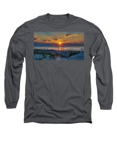 Jekyll Island Sunrise Long Sleeve T-Shirt