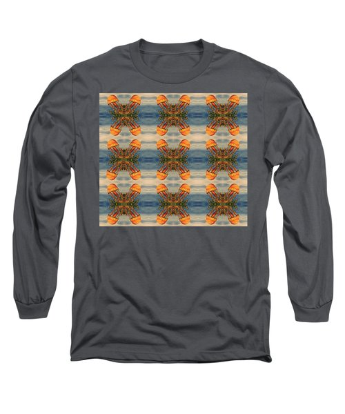 Jellyfish Pattern Long Sleeve T-Shirt