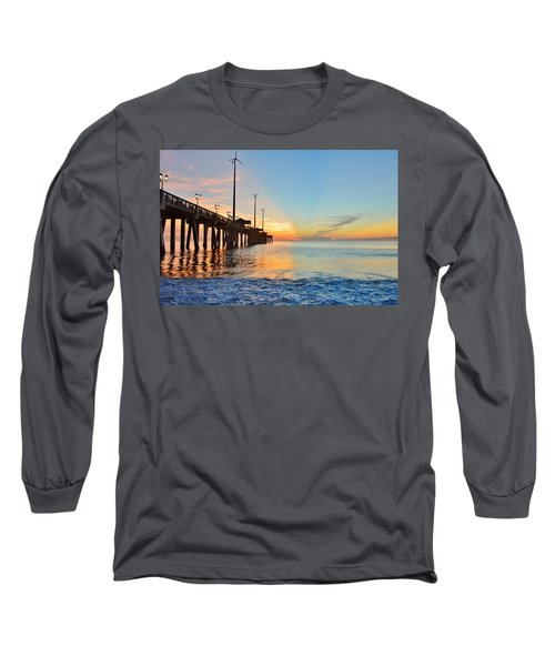 Jennette's Pier Aug. 16 Long Sleeve T-Shirt