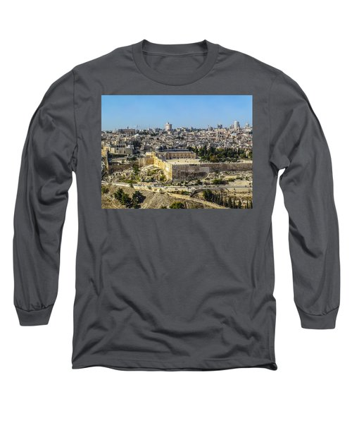 Jerusalem Of Gold Long Sleeve T-Shirt