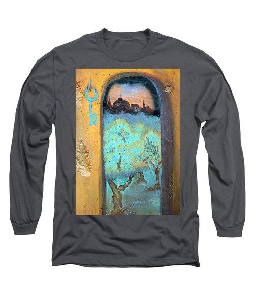Jerusalem Key Long Sleeve T-Shirt