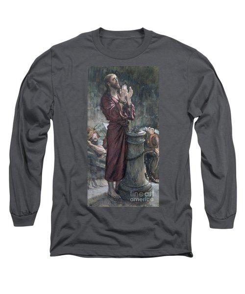 Jesus In Prison Long Sleeve T-Shirt