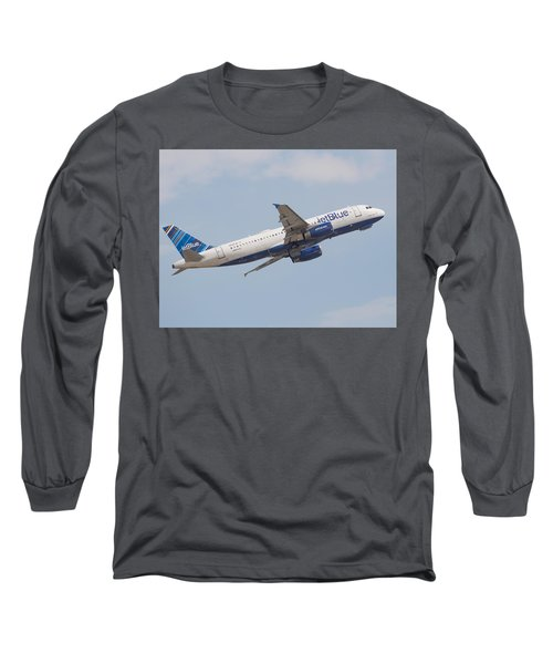 Jet Blue Long Sleeve T-Shirt