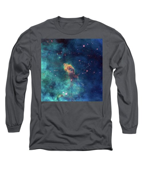 Long Sleeve T-Shirt featuring the photograph Jet In Carina by Marco Oliveira