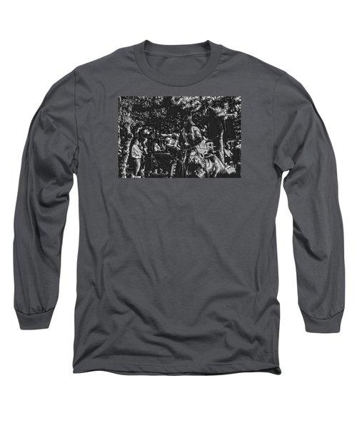 Long Sleeve T-Shirt featuring the photograph Jidai Matsuri Xv by Cassandra Buckley