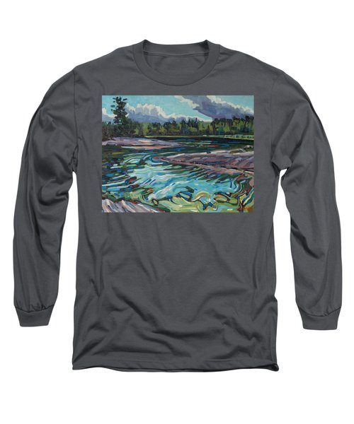 Jim Afternoon Rapids Long Sleeve T-Shirt