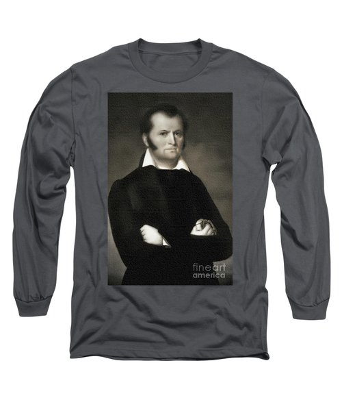 Jim Bowie - The Alamo Long Sleeve T-Shirt