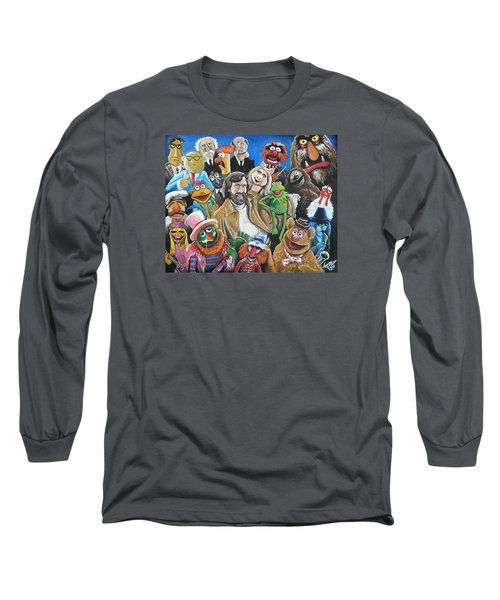 Jim Henson And Co. Long Sleeve T-Shirt by Tom Carlton