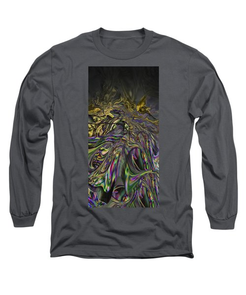 Long Sleeve T-Shirt featuring the digital art Jingle Pete Senior by Steve Sperry