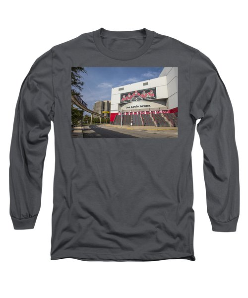 Joe Louis Arena Detroit  Long Sleeve T-Shirt