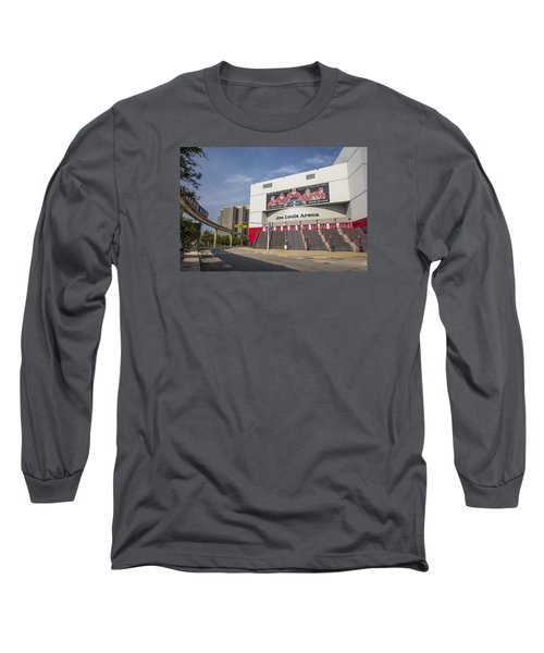 Joe Louis Arena Detroit  Long Sleeve T-Shirt