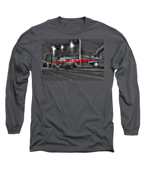 Joe Louis Arena Detroit Mi Long Sleeve T-Shirt