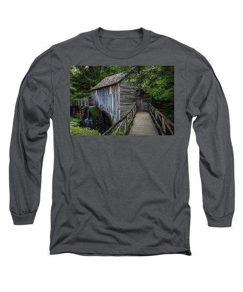 John Cable Mill Long Sleeve T-Shirt by David Cote