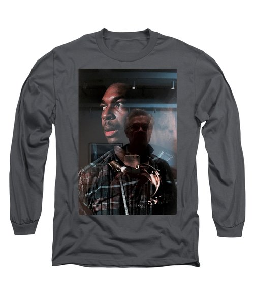 John Coltrane And Me Long Sleeve T-Shirt
