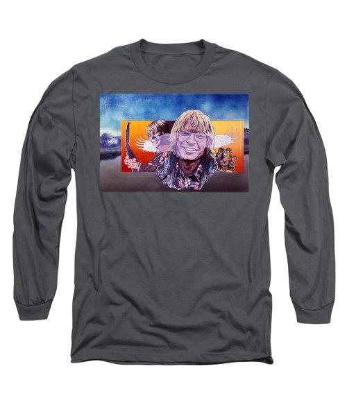 John Denver Long Sleeve T-Shirt by John D Benson