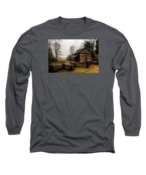 John Oliver's Cabin In Cades Cove Long Sleeve T-Shirt