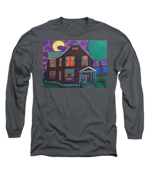 John Wells Home. Long Sleeve T-Shirt by Jonathon Hansen