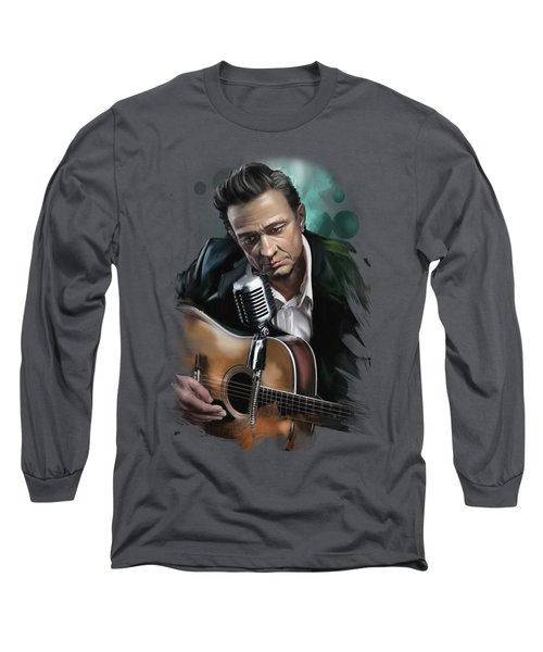 Johnny Cash Long Sleeve T-Shirt