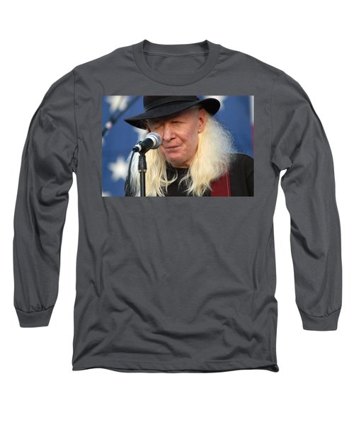 Johnny Winter Long Sleeve T-Shirt